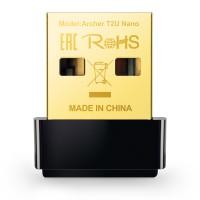 Безжичен USB адаптер TP-LINK Archer T2U Nano AC600