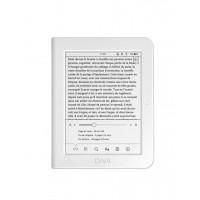 """eBook четец BOOKEEN Diva HD 6"""" тъч подсветка 300dpi бял"""