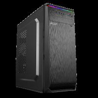 Кутия за настолен компютър Delux C710 ATX с RGB горна лента