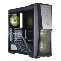 Кутия за настолен компютър Cooler Master MasterBox MB500 RGB TUF Edition Mid-Tower Черен