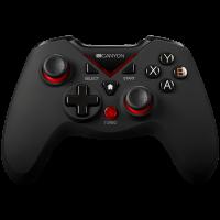 Безжичен джойстик Canyon CND-GPW8 2.4G  PC/PS3/Android/XboxOne 600mAh rubberized surface and vibration feedback