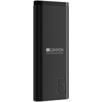 Power bank Canyon CNE-CPB05B 5000mAh 5V/2.1A Black
