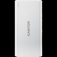 ВЪншна батерия CANYON PB-106k 10000mAh  White