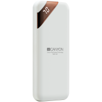 Външна батерия Canyon CNE-CPBP5W 5000mAh 5V/2.1A power display White
