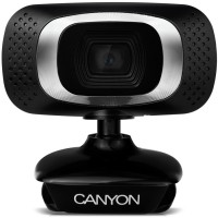Camera Canyon CWCNE-CWC3C3 1080P webcam with USB2.0 connector, 360° rotary view scope, 2.0Mpixels