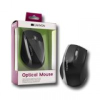 Мишка CANYON CNR-MSO01NS Optical 800dpi 3 btn USB Black/Silver
