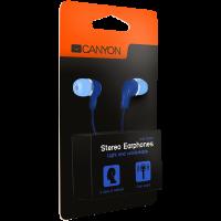 Слушалки с микрофон Canyon CNS-CEPM02BL тапи Blue