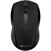 Мишка безжична Canyon CNS-CMSW08B 1600dpi 6btn BT/ 2.4GHz  black