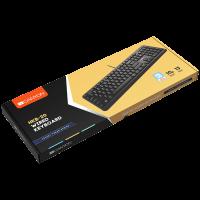 Клавиатура Canyon CNS-HKB02 Silent USB BG layout