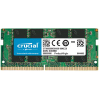 Памет CRUCIAL 8GB DDR4 2666MHz PC4-21300 CL19 SODIMM