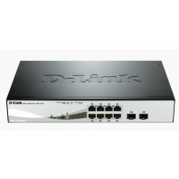 Switch D-Link DGS-1210-08P 8-port 10/100/1000 8xPoE 2xSFP