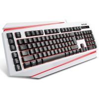 Клавиатура с подсветка DELUX DLK-9500 USB бяла