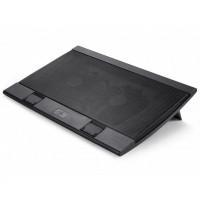 "Охлаждщ пад за лаптоп DeepCool WIND PAL FS 17"" 2x140 mm 1200 RPM Черен"
