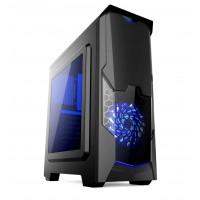 Кутия за настолен компютър Estillo 8804 Blue Gaming ATX USB 3.0
