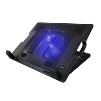 Охладител за лаптоп Ewent EW1258 Вентилатора 125мм USB хъб Черен