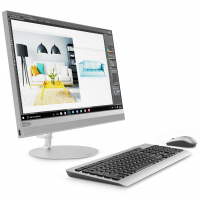 "Настолен компютър Lenovo IdeaCentre AIO 520 21.5"" IPS FullHD i5-8400T 4GB DDR4 1TB 3.5"" + free PCIe slot DVD USBkeyboard and  mouse"