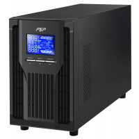 UPS FSP Group Champ Tower 2000VA 1800W OnLine LCD 4xIEC