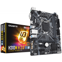 Дънна платка GIGABYTE H310M-H 2.0 S1151 2xDDR4 2xPCIe VGA HDMI USB3.0