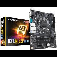 Дънна платка GIGABYTE H310M-S2P s1151 2xDDR4 Serial port M.2 PCIe VGA DVI HDMI