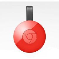 Мултимедиен плеър Google Chromecast 2 HDMI Червен