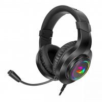 Геймърски слушалки с микрофон Redragon Hylas H260RGB-BK USB RGB LED