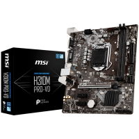 Дънна платка MSI H310M PRO-VD s1151 2xDDR4 USB3.1 VGA DVI-D mATX Retail