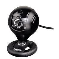 Уеб камера HAMA Spy Protect HD720p микрофон Черна