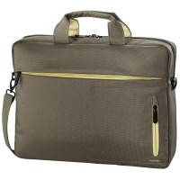 "Чанта за лаптоп Hama Marseille Style 15.6"" кафявo/жълт"