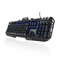 Геймърска метална клавиатура Hama uRage Cyberboard USB RGB