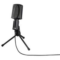 Настолен микрофон HAMA MIC-USB Allround за PC/лаптоп USB Черен