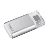 Четец за карти HAMA 181020 USB 3.1 Type-C SD/microSD Сребрист