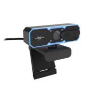 Уеб камера HAMA uRage REC 600 HD стриминг микрофон Черна
