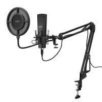 Настолен микрофон uRage Stream 800 HD Studio Черен