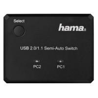 Превключвател HAMA 42041 USB 2.0 2 x PCта към принтер