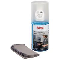 Почистващ гел HAMA за LCD TFT TV /телевизори/ с кърпа