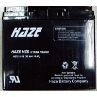 Оловна Батерия Haze 12V / 18Ah - 180 / 76 / 167 mm  AGM Standart