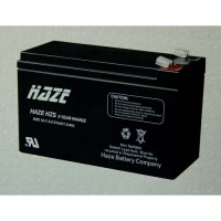 Haze Оловна Батерия (HZS12-7.5HR) 12 V / 7.5Ah  HR  /High Rate/- 151 / 65 / 94 mm AGM