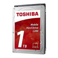 """Твърд диск TOSHIBA L200 1TB 2,5"""" 5400rpm 8MB SATA 3Gb/s 9.5 mm HDWJ110UZSVA"""
