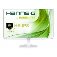 "Монитор HANNSPREE HS 246 HFW 23.6"" IPS 1080p 7ms 1000:1 250cd VGA HDMI Бял"