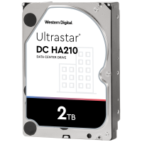"Твърд диск WD Ultrastar DC HA210 2TB 3.5"" SATAIII 128MB 5 years warranty"
