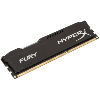 Памет Kingston HyperX Fury Blacк 4GB 1600MHz DDR3 Non-ECC CL10 DIMM
