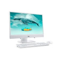 Настолен компютър All in One  Dell Inspiron AIO 348 Core i3-8145U 23.8-inch 1080p IPS Touch 8GB 2666MHz DDR4 1TB HDD Wireless Keyboard&mouse
