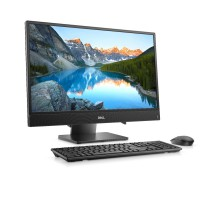 Настолен компютър All in One Dell Inspiron AIO 3480  23.8 IPS 1080p AG HD Cam  Intel Core i5-8265U 8GB 2666MHz DDR4 1TB HDD+ 256GB  M.2 PCIe NVMe SSD Key + mouse