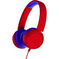 Слушалки за деца JBL JR300 Червен