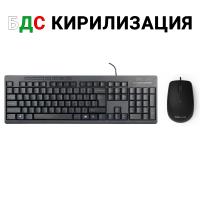 Комплект мишка+клавиатура Delux K6300U+M330BU