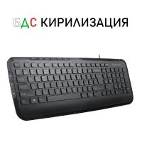 Клавиатура Delux KA160U БДС кирилизация мултимедийна