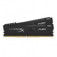 Памет Kingston HyperX Fury Black 16GB(2x8GB) DDR4 PC4-21300 2666MHz CL16 HX426C16FB3K2/16