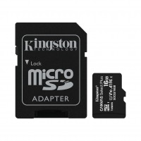 Карта памет Kingston Canvas Select Plus 16GB microSDHC  Class 10 UHS-I