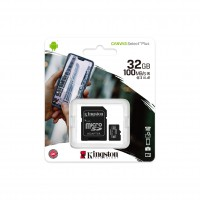 Флаш карта памет Kingston Canvas Select Plus  32GB microSDHC Class 10 UHS-I
