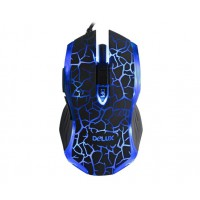 Оптична геймърска мишка DELUX M557 1600dpi 6btn